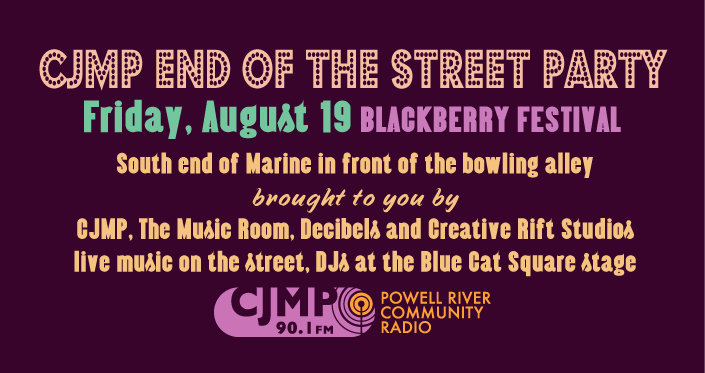 Click the Pic to Sign up to volunteer at the CJMP Blackberry Fest event(s)