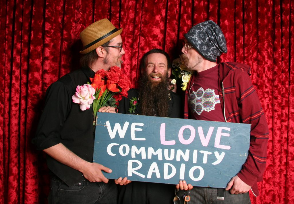 Peoples Prom- where people get seriously silly about Powell River Community Radio. Photo Mel Edgar