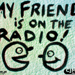 my friend is on the radio: Rabideye Fine Art & Design Web Development for CJMP 90.1 FM Powell River BC Canada Community Radio