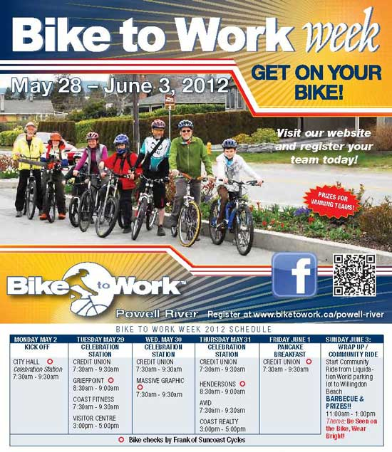 Join the CJMPpeople Team! Bike to Work Week (Mon. May 28-Sun. June 3, 2012)