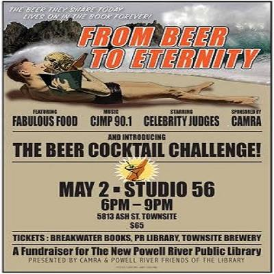 From Beer to Eternity, A Library Fundrasier with CJMP's Triple Dub, Courtney and Ioni at the helm