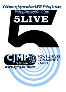 FIVE LIVE: The CJMP Friday Live Line-Up Celebrates its 5th Anniversary