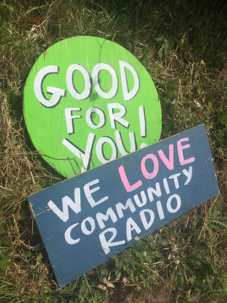 LOCAL BUSINESSES AND ORGANIZATIONS SUPPORT COMMUNITY RADIO!
