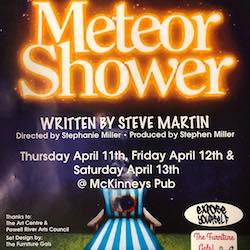 Meteor Shower, a play written by Steve Martin