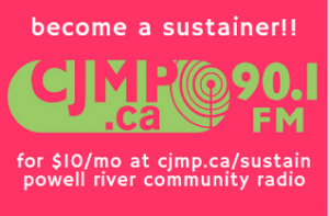 become a sustainer for just $10 a month! help us pay the rent and the internet and the socan and the other things that we have to pay to keep the lights on and the signal lit.