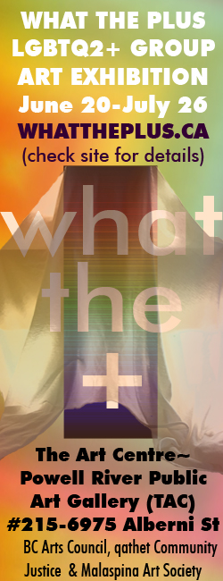 What The Plus LFBTQ2+ Group Art Exhibition June 20 to July 26